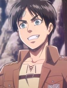 "Eren Jaeger from ""Shingeki No Kyojin"""
