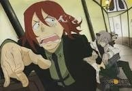 Spirit Albarn. (Soul Eater) why is he crying? Because steins a creep.