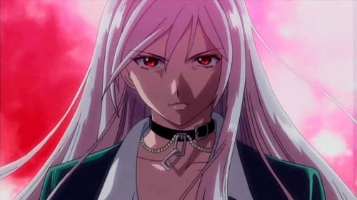 Moka Akashiya from Rosario + Vampire.