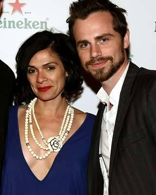 Rider Strong with his loving wife, Alexandra Barreto <333