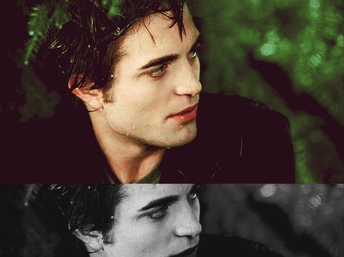 my handsome,sexy vampire looking to the side<3