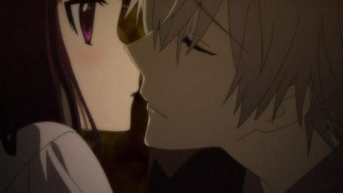 Ririchiyo shocked when being kissed Von soushi Inu x Boku ss