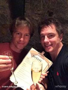John and Scott who are now husbands :D Liebe them!I Know its not girlfriend/wife but i wanted to post them :) x
