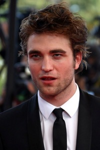 Robert with his sexy,kissable mouth slightly open<3