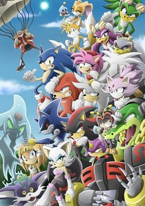 I was only little when I seen dat blue hedgehog running around all fast I watched sonic under ground played the genesis then I noticed tails and knuckles of course I right away became a peminat of knuckles when I heard his story and watched a few shows Filem and played the games I was an instant peminat of sonic (mostly knux) and the others I Cinta dem all ^^