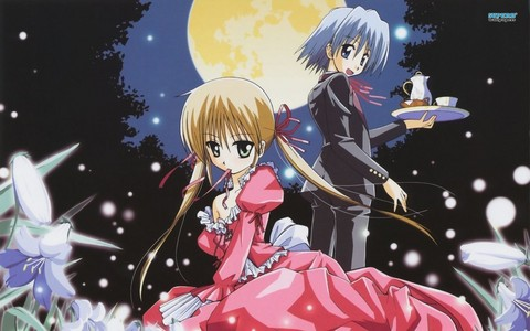 another option nagi and hayate from hayate the combat butler