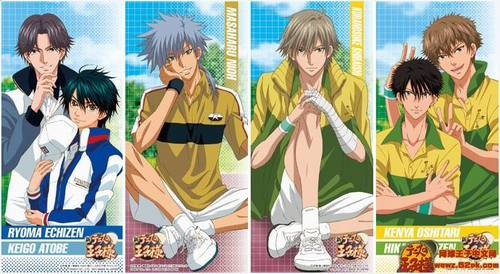 Prince of Tennis...It was a great Tennis anime...It teach Du how to be strong,play tennis,tennis facts,never give up and many Mehr and I highly recommend it...!!!~ For Mehr information, check on this link: http://princeoftennis.wikia.com/wiki/Prince_of_Tennis_Wikia