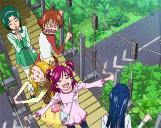 Pretty Cure is a good Anime for 11-12 year-olds!