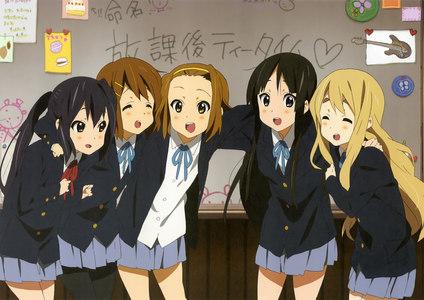k on is a good Anime ^^