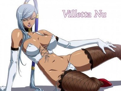Villeta Nu Evil and Sexy ((but in the Anime she acctually became good at the but but yeah....))