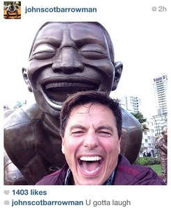 Victoria's idol,inspiration,her EVERYTHING...John Barrowman<3