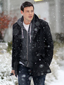 Cory looking cold in the snow <3