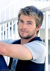 my blonde haired Aussie hottie,Chris Hemsworth<3