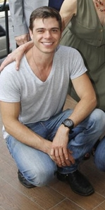 Matthew wearing a watch :)