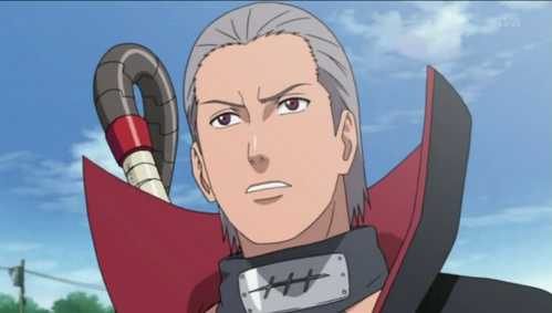 Hidan (Naruto + Shippuden) is my favourite sadistically/seductively evil character even though he killed one of my favourite characters he's still so funny <3