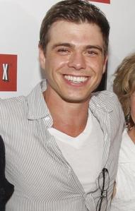 Matthew wearing a buttoned شرٹ, قمیض :)