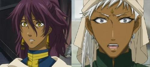 Well, these two are Indians visiting England from Black Butler...