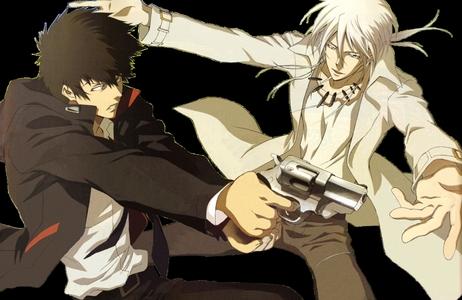 Kogami and Makishima (Psycho Pass) are arch-enemies
