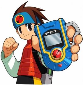 Lan Hikari from Megaman NT Warrior
