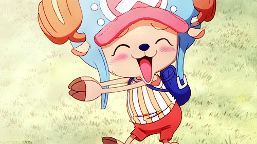 Tony Tony Chopper (One Piece) he is soooooo cute.........he is not a Raccon dog...........he is a Reindeer.........heh eh ehe h