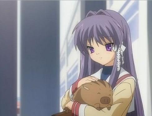 Botan is Kyo-chan's pet in Clannad!~