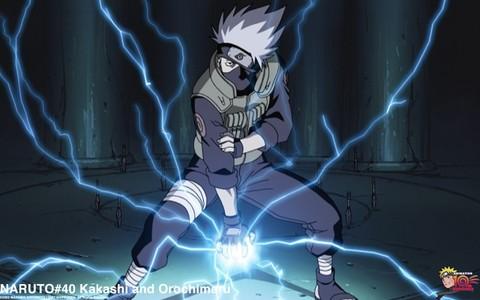Kakashi (Naruto) - Determined to keep Orochimaru away from Sasuke.