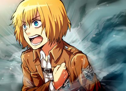 Wow, no Armins yet? Shocking, Armin Arlert's my answer then!