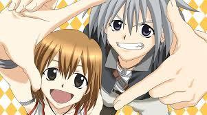 Haru and Elie (Rave Master)