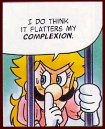 Luigi is the manliest of heroes. Cross-dressing for hero stuff.