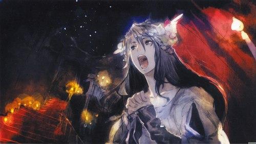 Nezumi as Eve Пение (No6)