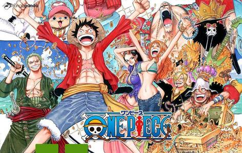 Here are some of my favourite anime (no specific order) - Fairy Tail - Naruto+Shippuden - One Piece (pic) - Fullmetal Alchemist - Brotherhood - Attack on Titan - Black Cat - Black Butler -Bleach - Darker Than Black - Ouran Highschool Host Club