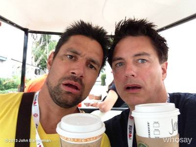 John and Manu Bennett!