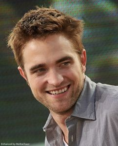 Robert's beautiful smile,which is my own personal brand of sunshine<3