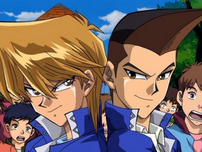 Joey Wheeler and Tristan Taylor from Yu-Gi-Oh