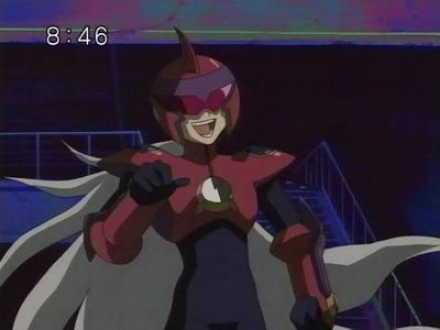 Dark Protoman from Megaman NT Warrior