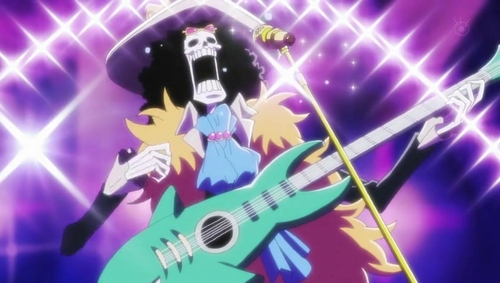Soul King Brook from One Piece.