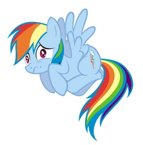 I dream about meeting rainbow dash and gave her a cyan colored ball then she wanted to teach me how to fly which I couldn't so she trained me to be the fastest. I had to rethink everything after that. And rainbow dash is my favorite pony which is weird cause I dreamed about being with her.