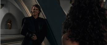 I upendo all the scenes with Anakin in them especially the final epic battle between him and Obi-Wan, when he turned into the dark side and also when him and Obi-Wan were in the elevator in both the sekunde and third movie, but the scene that somehow is being played over and over again in my mind is when him and Padme were on the balcony in Coruscant: Anakin: wewe are so...beautiful Padme: Only because I'm so in love. Anakin: No, only because I'm so in upendo with you. Padme: So upendo has blinded you? Anakin (laughs): Well that's not exactly what I meant. Padme: But it's probably true. And also when he was shirtless might I add =)