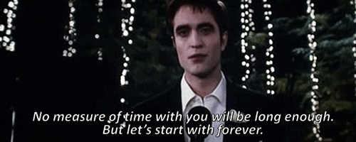 Edward's 토스트 to Bella at their reception from BD part 1.Edward has the best romantic lines EVER<3