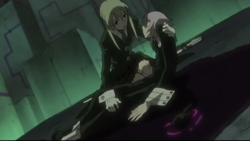 Crona's death from Soul Eater.