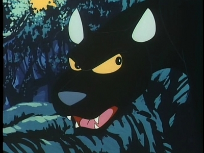 "Mine would probably be this guy- Cassius the panter from the classic: ""Kimba the White Lion"". I don't know what it is, but I just think he's awesome. :3"