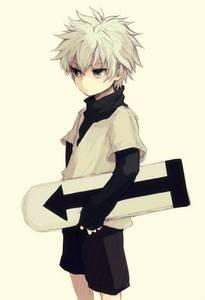 me me! My no. 1 Избранное anime~ <33 hehee <i>(killua's fanart is not mine)</i>