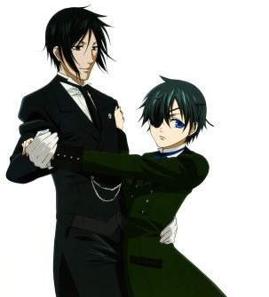 Sebastian and Ciel :3