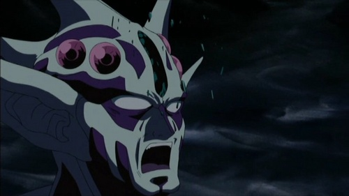 Masaki Murakami in his Zoalord form just before his death from Guyver the Bioboosted Armor