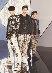 Kris,Tao and Xiumin
