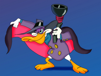 """""""Darkwing Duck"""" happens to be one of my preferito animated Disney shows. I used to watch it every Saturday morning"""