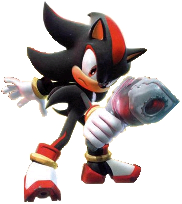 Post Picture Of Shadow Holding A Gun Shadow The Hedgehog Answers Fanpop