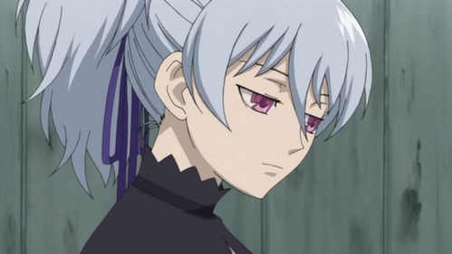 Yin (Darker Than Black) is often emotionless as well as expressionless