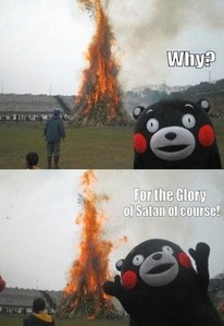 Why? For the glory of Satan, of course! *Teemo laughs*