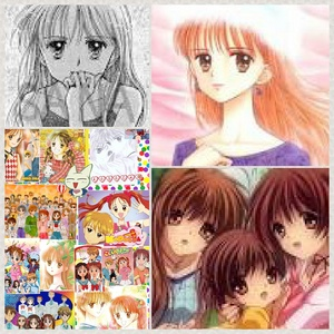 Sana from kodocha and nagisa from clannad/clannad after story P.S please sign the petition for kodocha 3 season! ( :